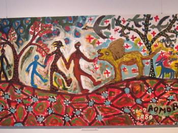 アフリカのダンス.JPG